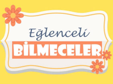 Bilmeceler -1-