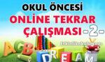 Okul Öncesi Online Genel Değerlendirme Testi -2-