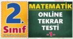 2. Sınıf Matematik Online Tekrar Testi -1-