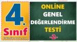 4. Sınıf Genel Değerlendirme Testi -2-